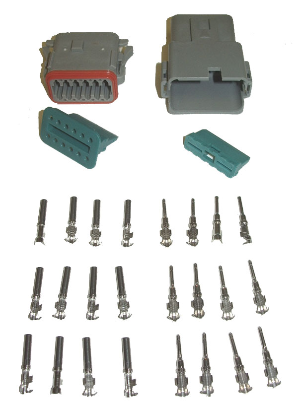 OSD AMPHENOL (DEUTSCH) CONNECTOR KIT - 12 PIN