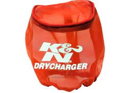 K&N Dry Charger for 59-2040 Filter - RED