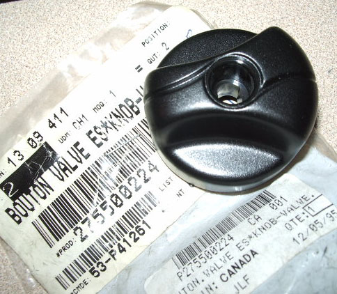 KNOB-VALV.FUEL (NEW P/N 275500263) (SEA DOO 275500224)
