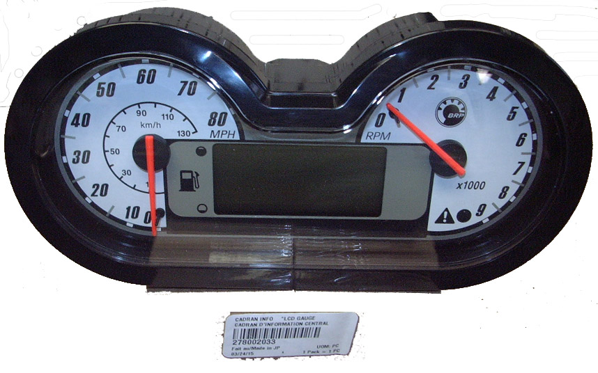 GAUGE-LCD (SEA DOO 278002033)