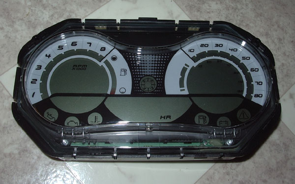 GAUGE - LCD (4TEC) (SEA DOO 278002270)