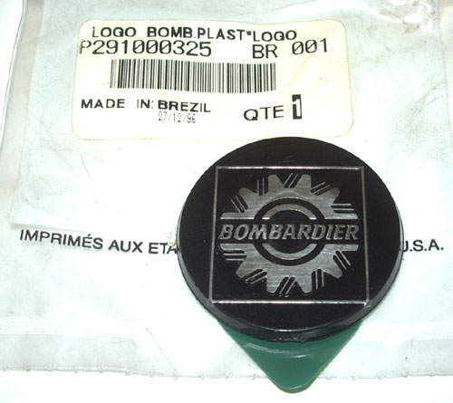 "PLATE-LOGO ""BOMBARDIER"" (DISCONTINUED) (SEA DOO 291000325)"