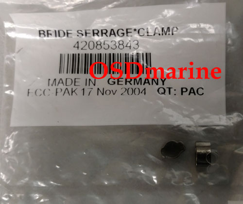 CRIMP CLAMP (FOR OEM INJECTION LINES - SOLD BY THE PIECE) (SEA DOO 420853843)