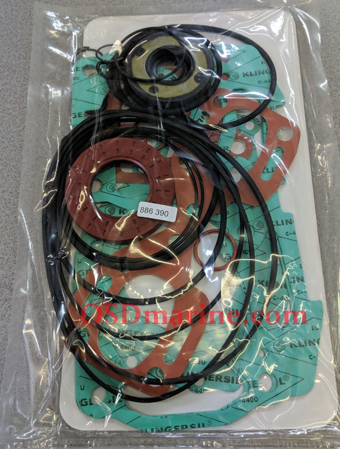 ENGINE GASKET SET (OLD P/N 290886390) (SEA DOO 420886390)