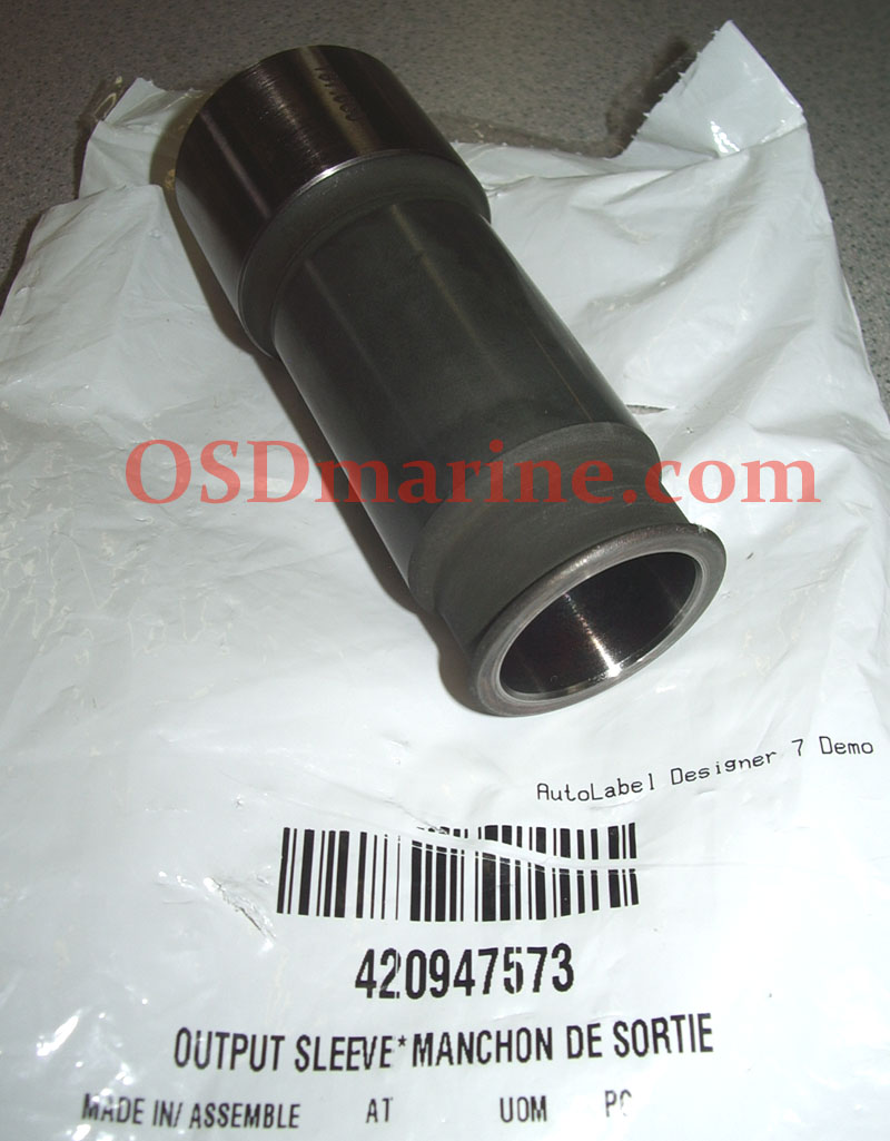 OUTPUT SLEEVE (PTO for SPARK) (SEA DOO 420947573)