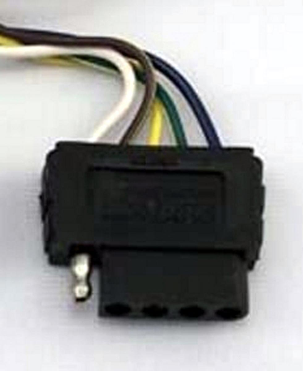 Trailer 5-Way Female Wiring Connector
