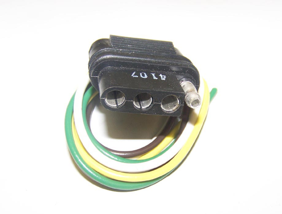 Trailer 4 Wire Flat End Wire