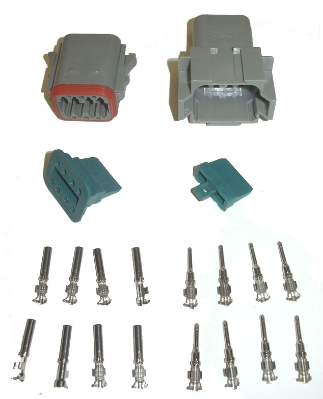 OSD AMPHENOL (DEUTSCH) CONNECTOR KIT - 8 PIN
