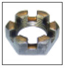 "Axle Nut 1"" Slotted Hex"