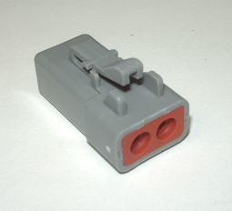AMPHENOL (DEUTSCH) ATP PLUG CONNECTOR - 2 PIN