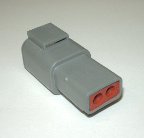 AMPHENOL (DEUTSCH) ATP RECEPTACLE CONNECTOR - 2 PIN
