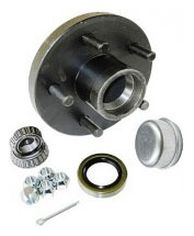 Trailer Hub 5 Stud Bolt Hole - 700# Hub Capacity