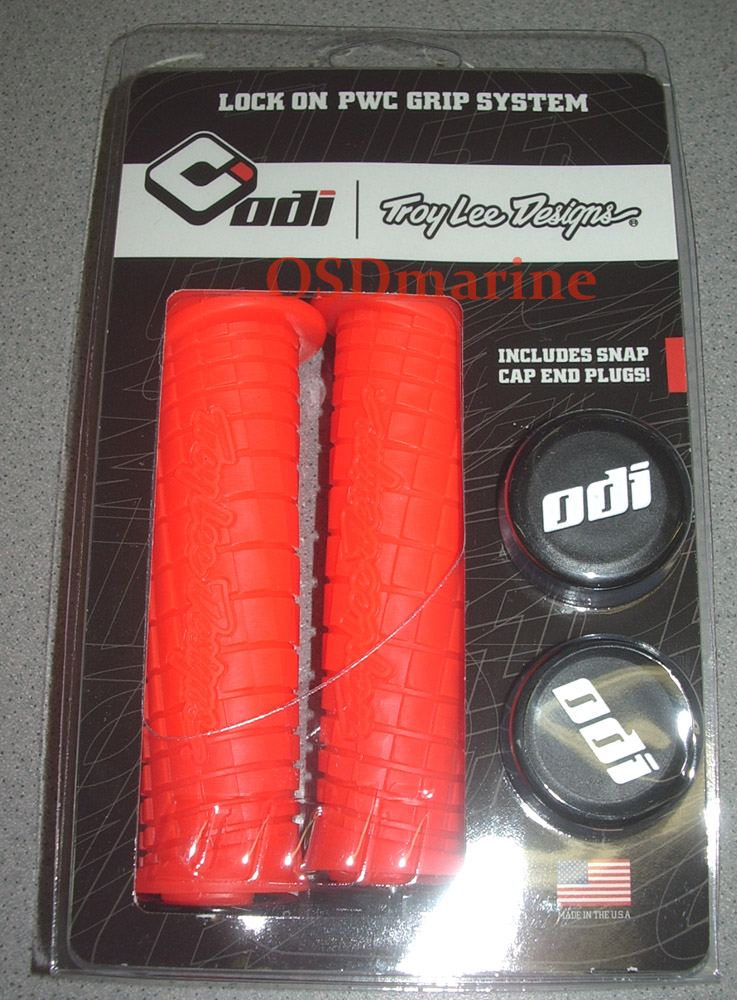 OSDmarine ODI Troy Lee Grip Kit - Sea Doo SPARK inc Bar Extenders! - ORANGE