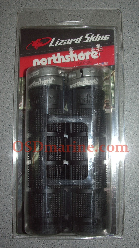 LIZARD SKINS GRIPS - NORTHSHORE Lock On (130mm) - BLACK