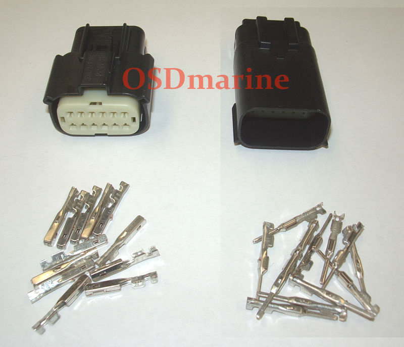 Molex MX150 Waterproof Connector Kit - 12 Pin