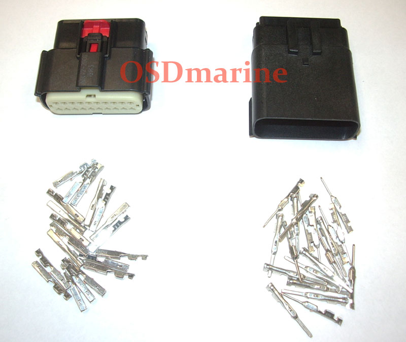 Molex MX150 Waterproof Connector Kit - 20 Pin
