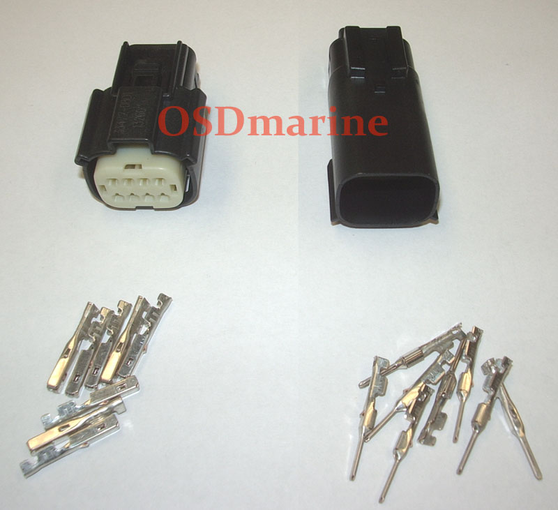 Molex MX150 Waterproof Connector Kit - 8 Pin