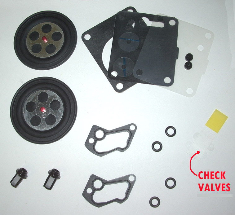 OSD Build Your Own OEM Mikuni DUAL Carb Rebuild Kit (38/40)