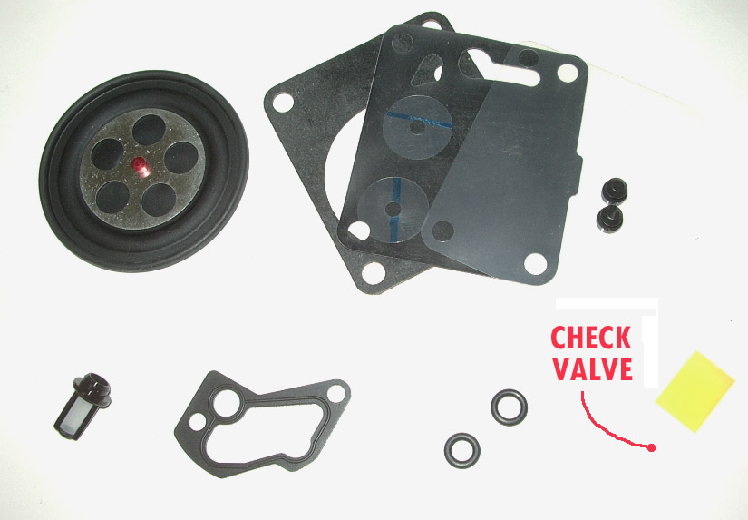 OSD Build Your Own Complete SINGLE Mikuni Carb Rebuild Kit