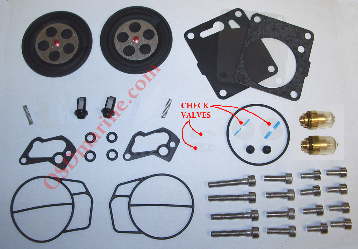 Fuel / Oil System Parts for Sea Doo PWC & Boats