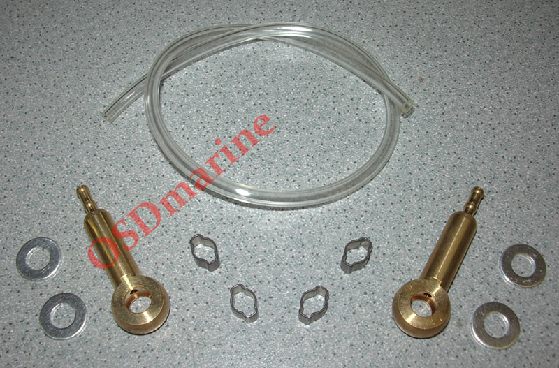 OSD SEA DOO BANJO FITTINGS KIT (OEM HOSE & CLAMPS)