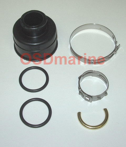 OSD Sea Doo PTO Boot Kit for 2 Stroke Carbon Seal Models