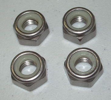 OSD SeaDoo Stainless Elastic Stop Nut Kit for 140mm 155mm Pumps