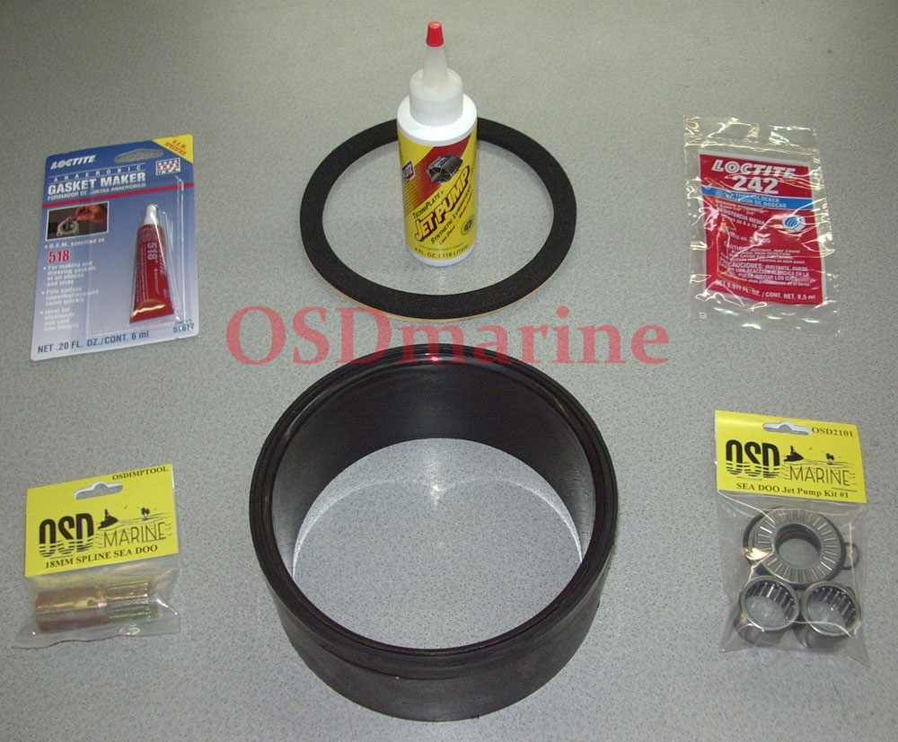 OSD Sea Doo MASTER Jet Pump Rebuild Kit #1 - Click Image to Close