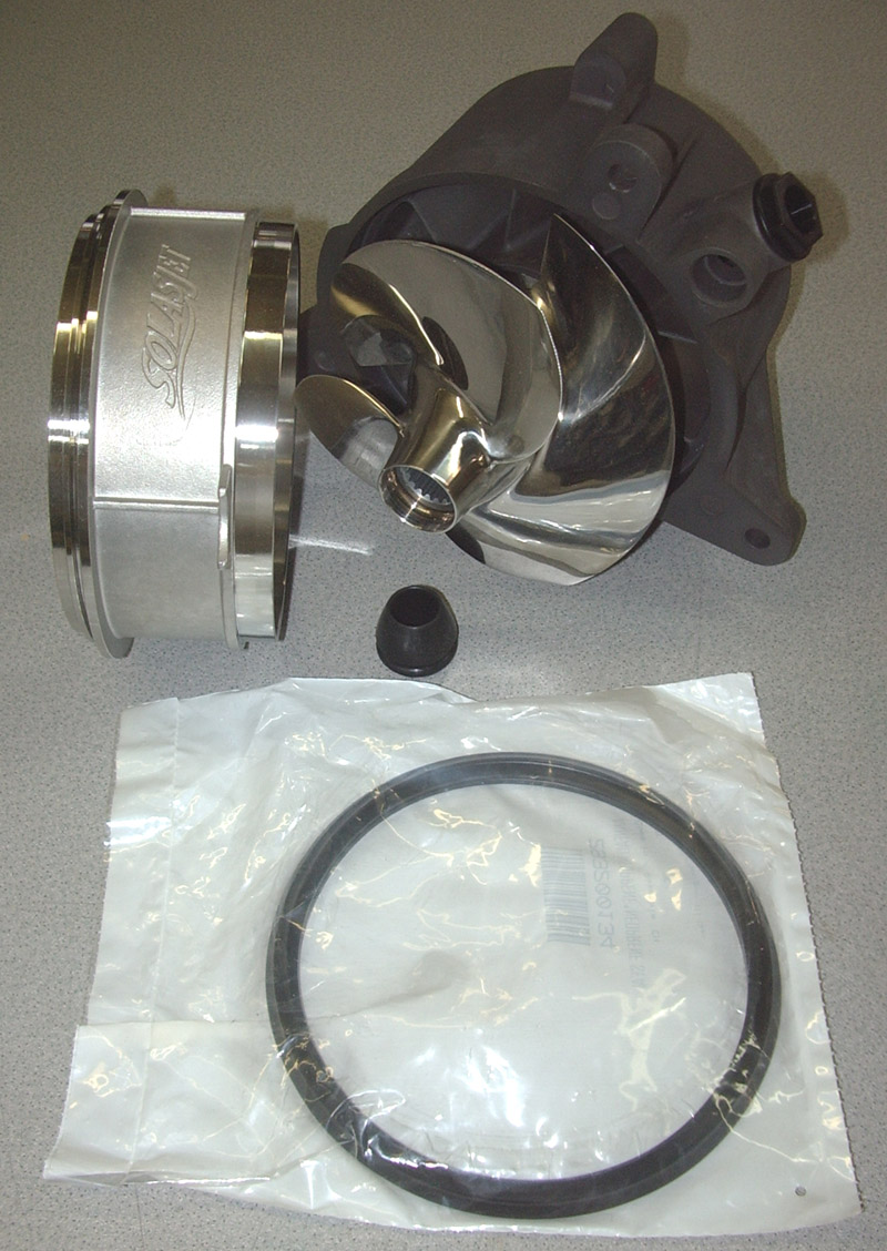 NEW!! - OSD SPARK Complete Assembled Pump SOLAS 12/14 IMPELLER & SS WR
