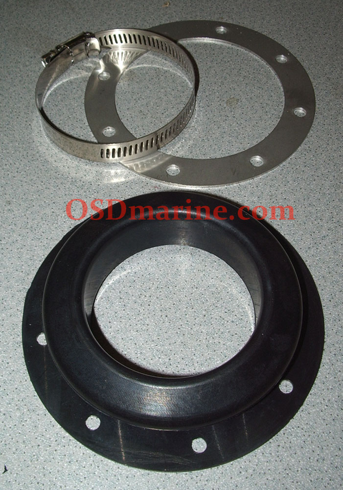 NEW!! - OSD AFTERMARKET EXHAUST SEAL - MANY YEARS/MODELS JETBOATS