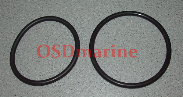 OSD O-RINGS SET FOR KAWASAKI 800 SXR with FACTORY PIPE DRY PIPE