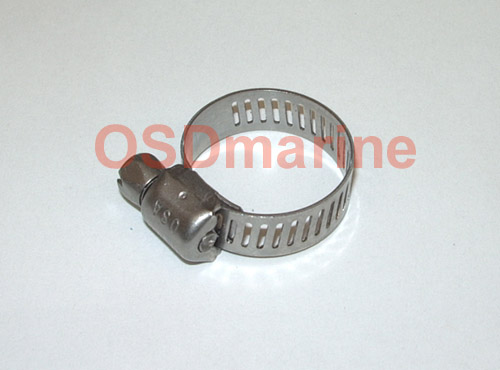 OSD Stainless Worm Gear Clamp (Replaces SEA DOO 293650027 293650129)