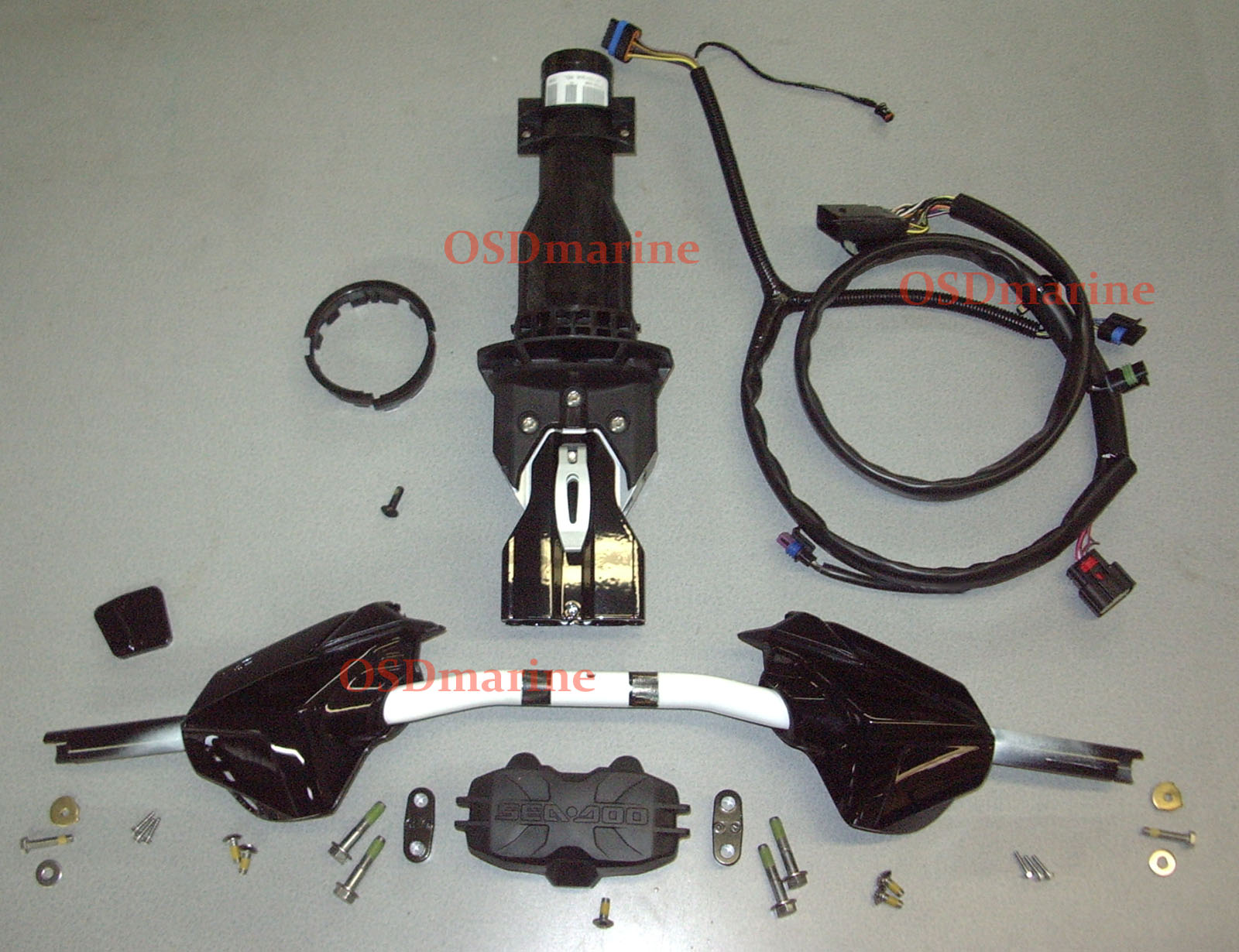 OSD Sea Doo SPARK Adjustable Riser Steering Kit (IBR Harness)
