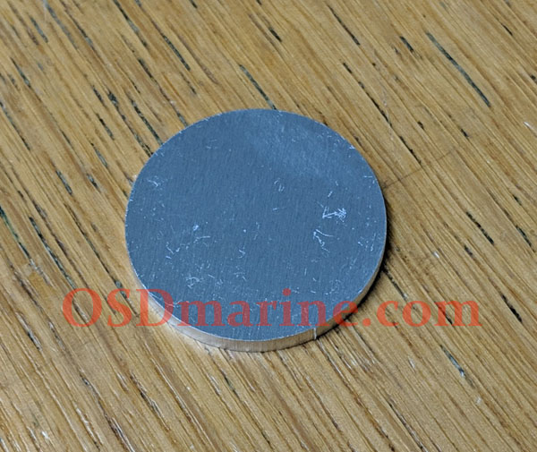 OSD Aluminum Disc Plug for Sea Doo Exhaust Pipe Welch Plug Repair