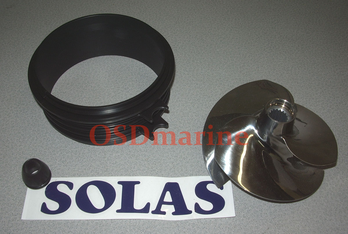 OSD Spark Impeller Combo Package - Solas 12/14 & OEM Wear Ring