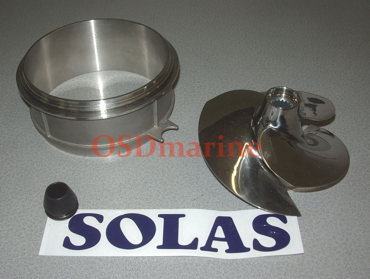 OSD Spark Impeller Combo Package - Solas 12/17 & SS Wear Ring