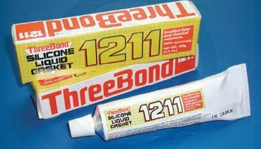 THREEBOND 1211 SILICONE LIQUID GASKET - 3.5 oz.