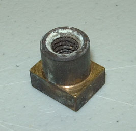 USED 211100033 BLIND NUT - USED ON PLASTIC PUMP HOUSINGS