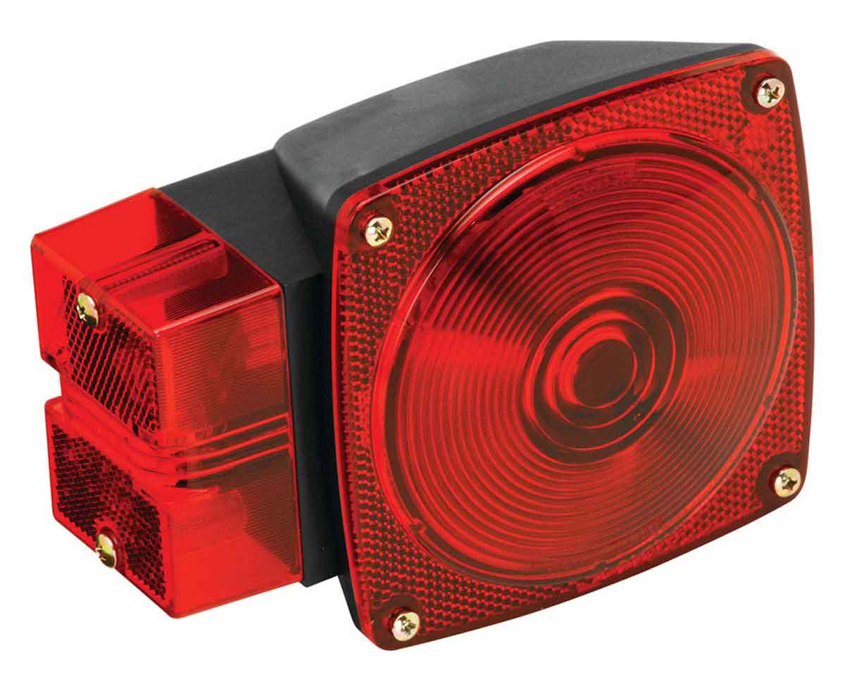 Wesbar TAIL LIGHT - OVER 80IN. - 7 FUNCTION (LEFT SIDE)