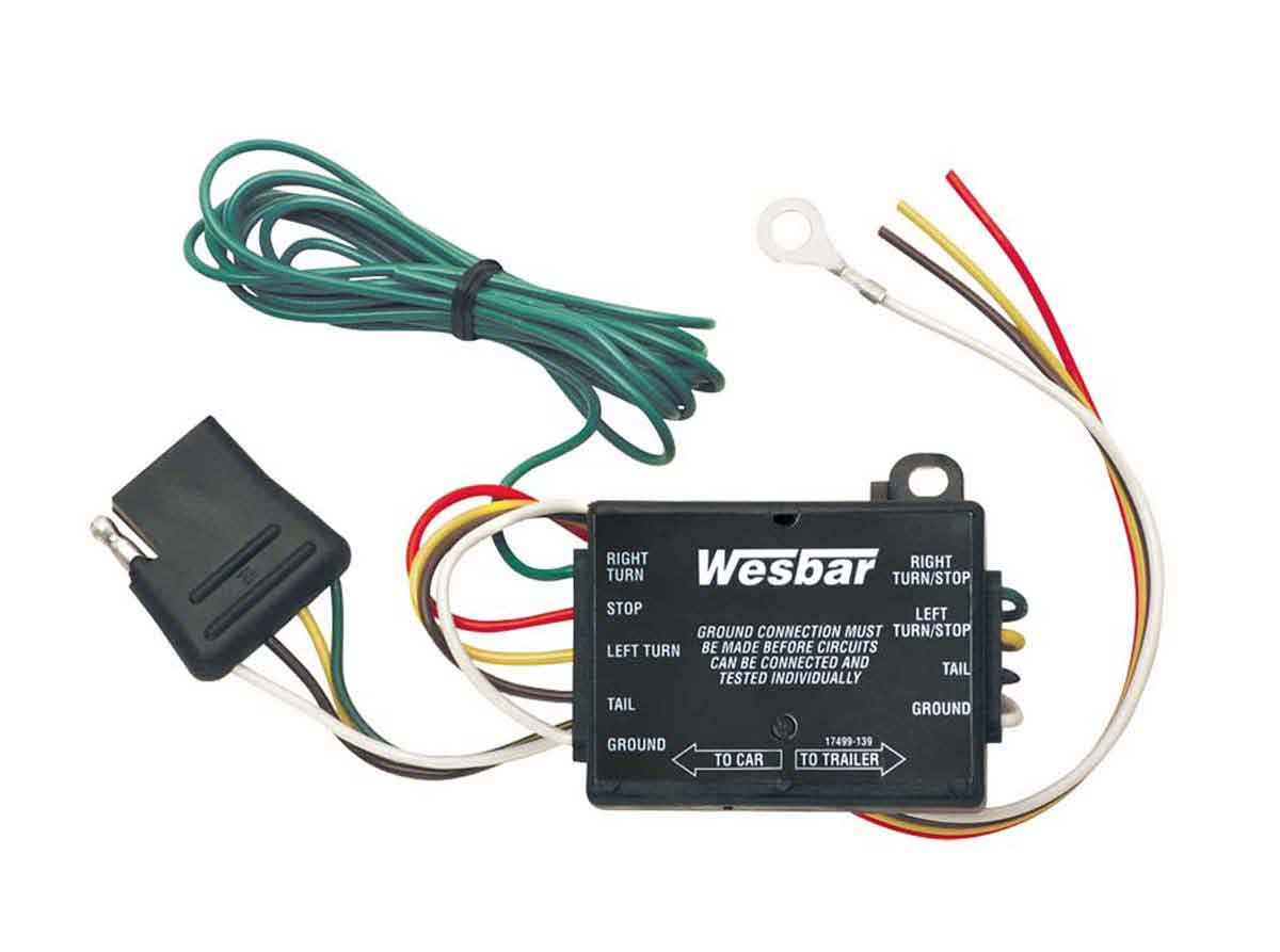 Wesbar Sea Doo Yamaha Kawasaki Polaris Parts Osd Marine Your 6 Pin Wiring Harness Tail Light Converter W 5 Ft Car End