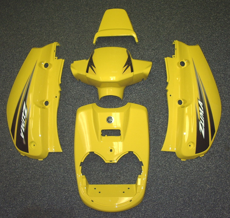 OSD Yamaha Zuma Panel Set - YELLOW (2002-2011)