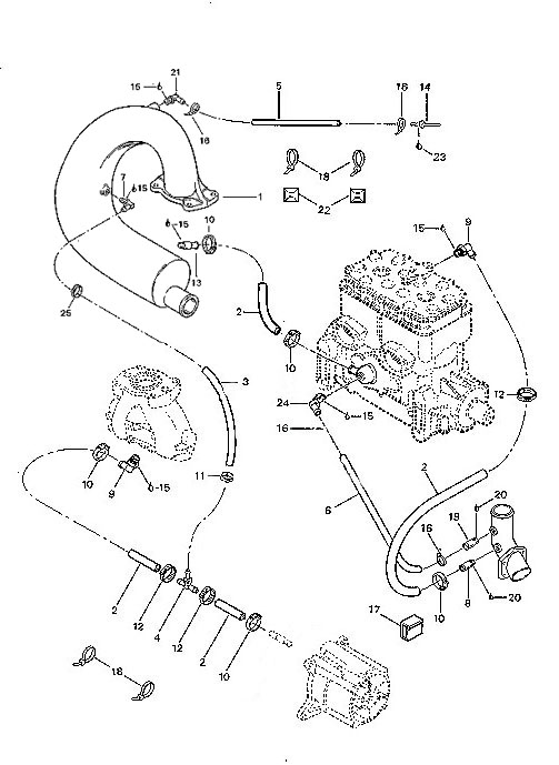 1990 SP OSD Marine llc Your ONE SOURCE for DISCOUNT Parts – Rotax 717 Engine Diagram