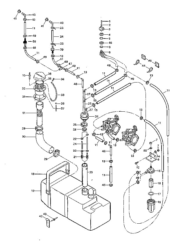 1991gtfuelsystem diagrams 496545 rotax 717 engine diagram putting in antifreeze  at gsmx.co
