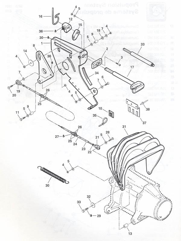 1993 GTS GTX : SEA DOO Yamaha Kawasaki Polaris Parts - OSD