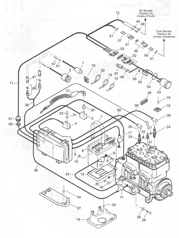 1996 Seadoo Sportster Wiring Diagram Schematic Electrical Circuit