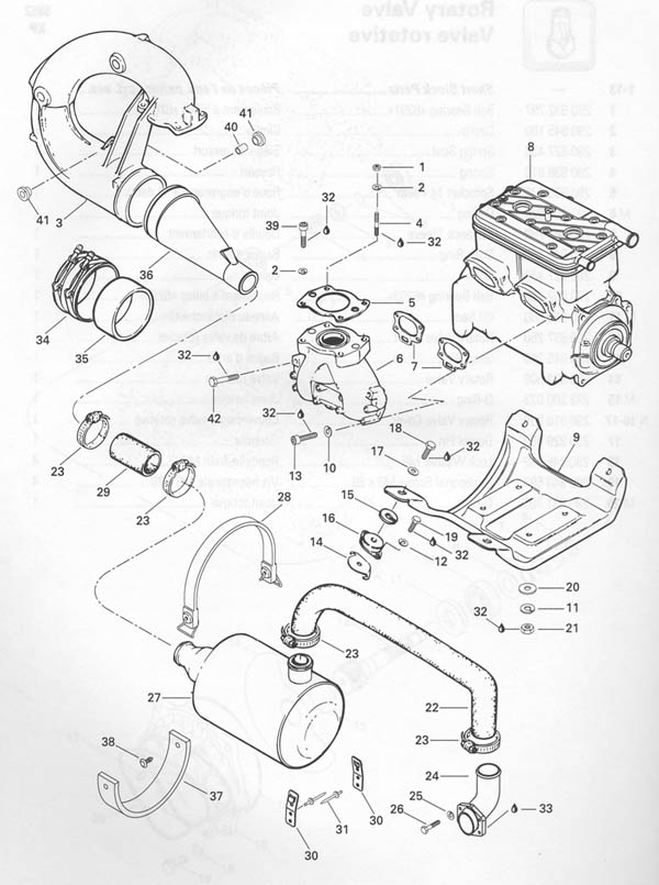 1993 XP OSD Marine llc Your ONE SOURCE for DISCOUNT Parts – Rotax 717 Engine Diagram