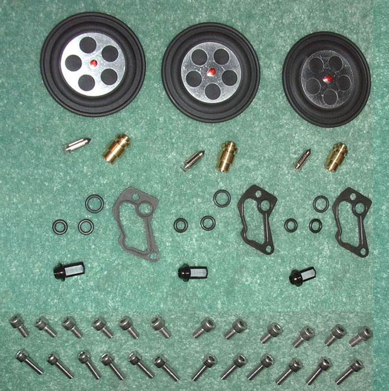 OSD Polaris PWC Triple Carb Rebuild Kit #1 - Mikuni OEM