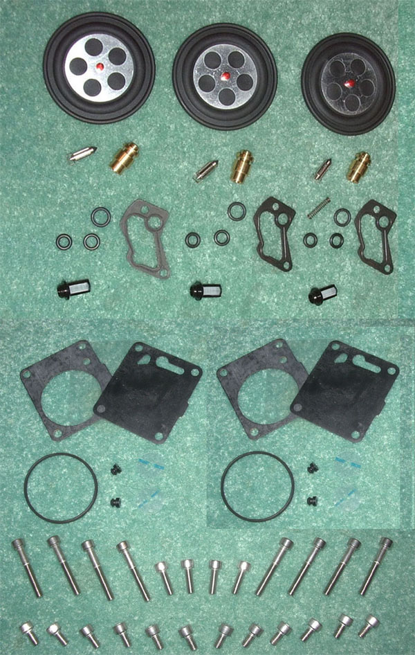 OSD Polaris PWC Triple Carb Rebuild Kit #2 - Mikuni OEM