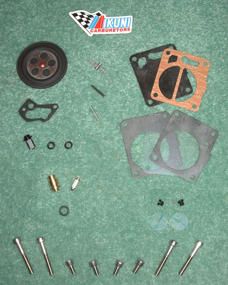 OSD Yamaha PWC Single Carb Rebuild Kit #1 - For 1990-1992 650cc